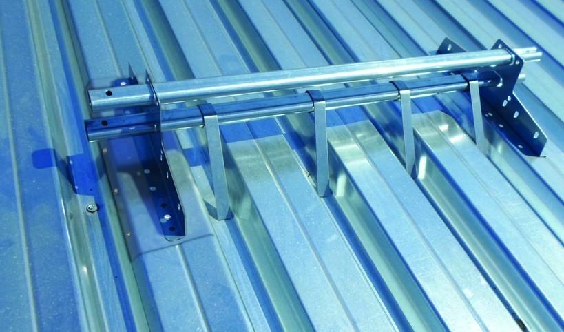 снегозадержатели на крышу из профнастила